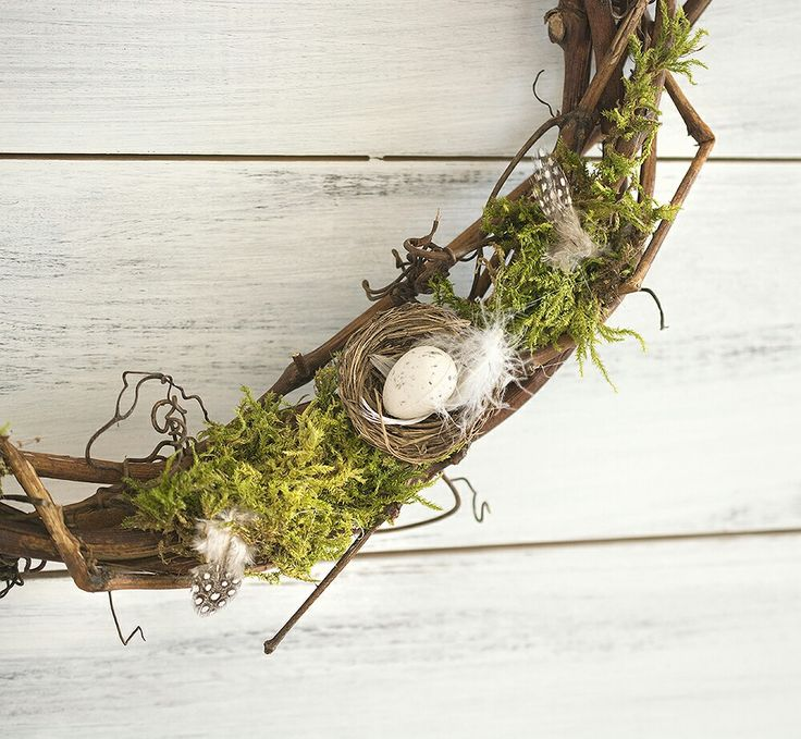 Spring, easter wreath