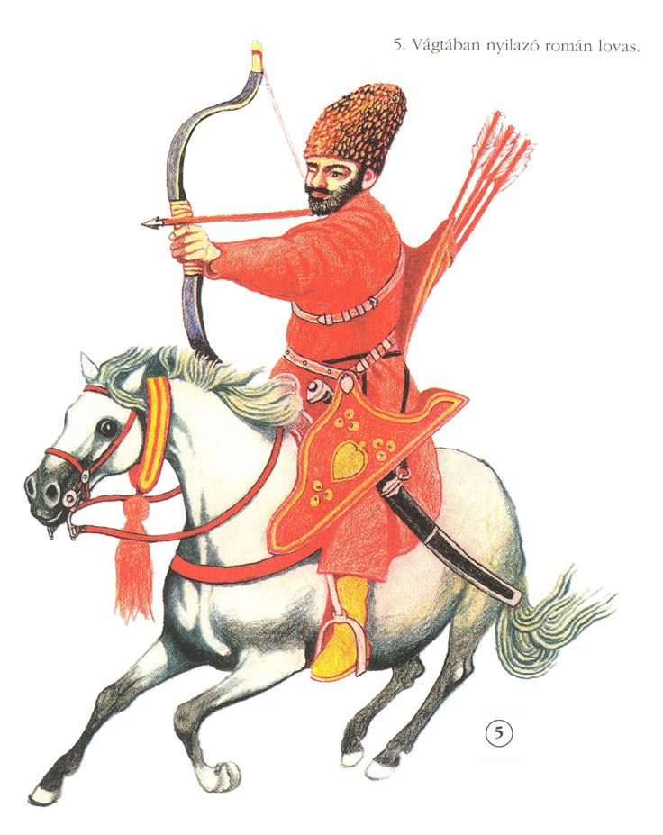 Wallachian or Moldavian light cavalryman, 17th century