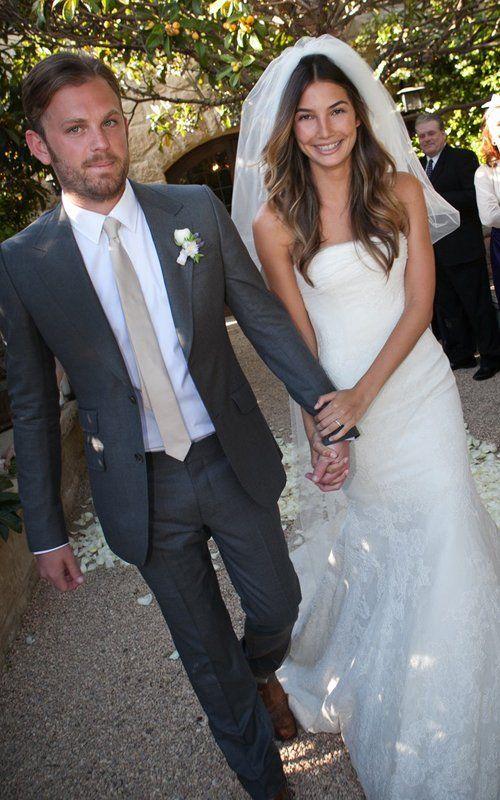 Lily Aldridge & Caleb Followill Hot Wedding Style