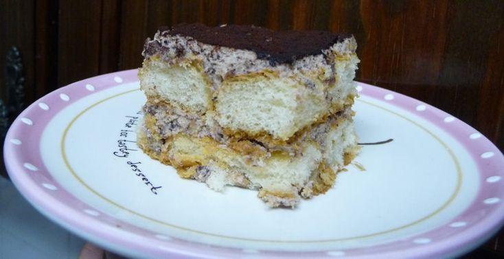 Торт с рикоттой и карамелизированными орехами