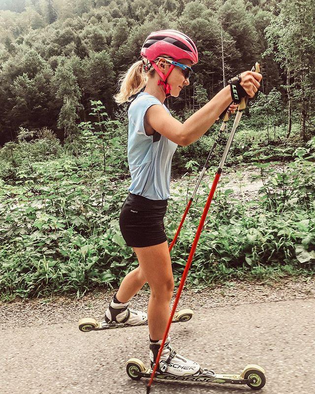 Thinking Of Snow Lea Luisa Oberstdorf Rollerskiing Allgau