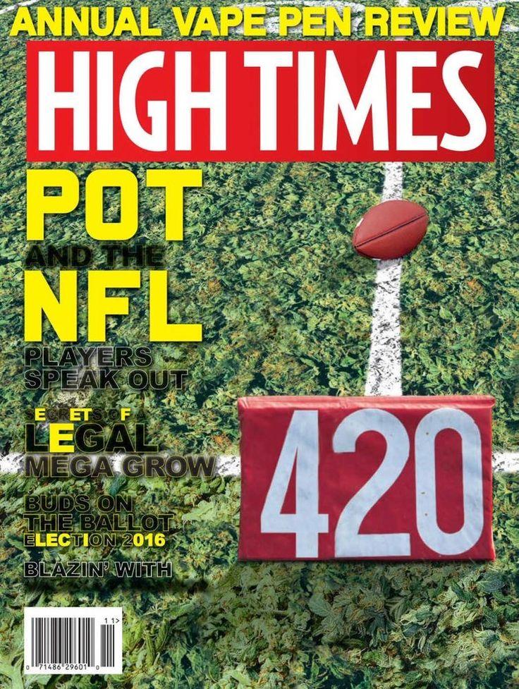 HiGH TiMES MaGaZiNe PDF November 2016 medical marijuana cannabis PDF