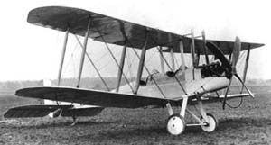 The B.E.2c  was one of the earlier reconnaissance aircraft, that was introduced in the start of WW1, when Eamon would have been enlisted. This would be the plane that would appeal to Eamon, as it not only was available in his time period, but was also a reconnaissance aircraft, one used for spying on enemy positions.