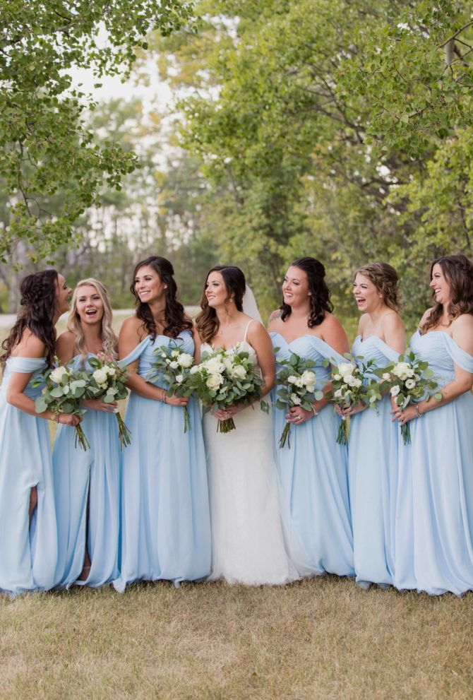 Pin On Light Blue Bridesmaid Dresses