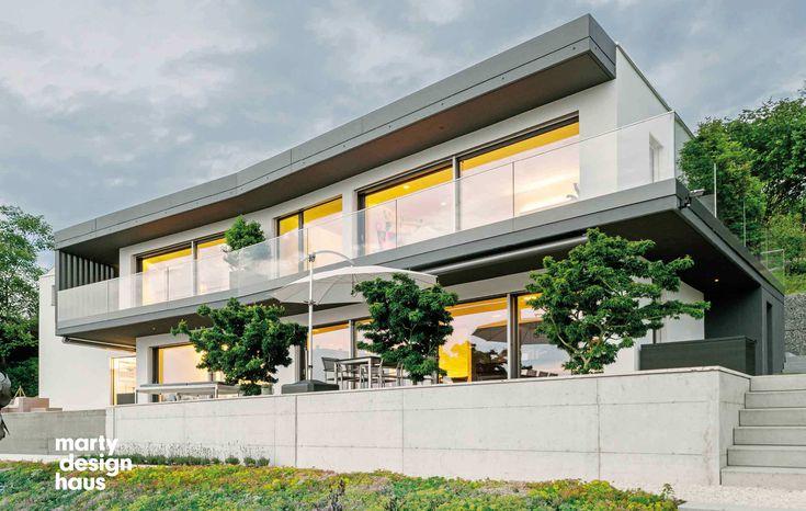 Individuelles Einfamilienhaus oder Mehrfamilienhaus bauen - Ein Marty Designhaus zum Festpreis - Sunset Hedingen