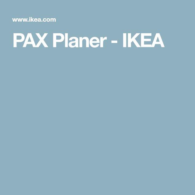 PAX Planer - IKEA