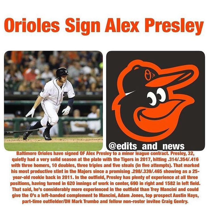 #alexpresley #wwsnoriole #baltimore #orioles #baltimoreorioles #signing #freeagent #freeagency #majorleague #minorleague #news #sports #sportsnews #instasports #breakingnews #baseball #baseballnews #mlb #mlbnews #worldwidesportsnews @edits_and_news