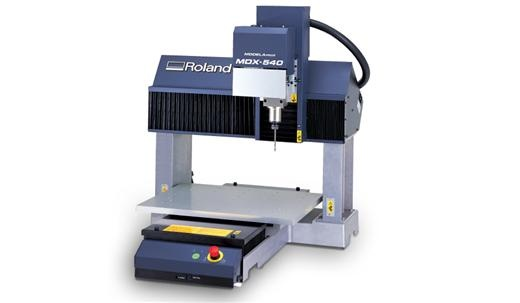 Roland Modela™ Pro MDX-540.  Introducing a major advancement in rapid prototyping, the Modela Pro II MDX-540 precision benchtop milling machine produces high-quality parts and models using Roland's Subtractive Rapid Prototyping (SRP) technology.