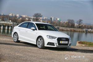 Audi A3 Berline 2.0 TDI 150 Quattro S Line - Retrouvez notre essai sur https://mag.starterre.fr/presentation-vehicule/essai-audi-a3-berline-qui-malle-cherche-malle-trouve.html