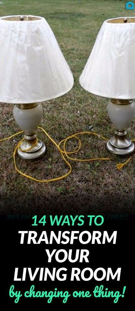 14 Blah to Beautiful Lamp Ideas to Transform Your Entire Living Room. #lighting #lamps #livingroom