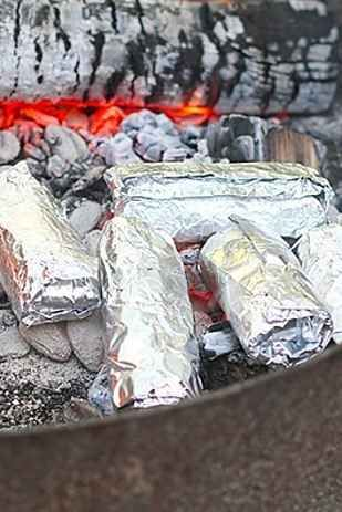 sale clothing 21 Delicious Foil Wrapped Camping Recipes