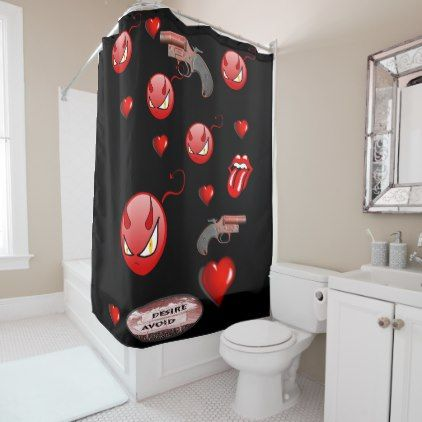 #Halloween shower curtain - #Halloween #happyhalloween #festival #party #holiday
