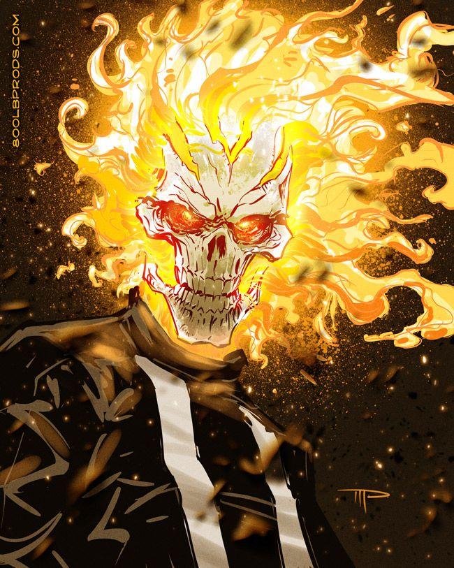 Ghost Rider Robbie Reyes - Michael Pasquale.
