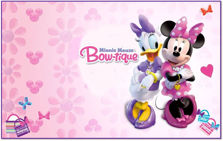 Minnie Boutique Free Printable Kit.