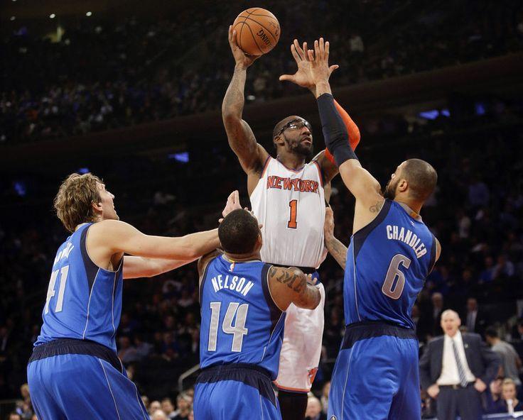 NBA rumors: Ex-Knick Amar'e Stoudemire 'committed' to signing with Dallas Mavericks - NJ.COM #Knicks, #Mavericks, #NBA