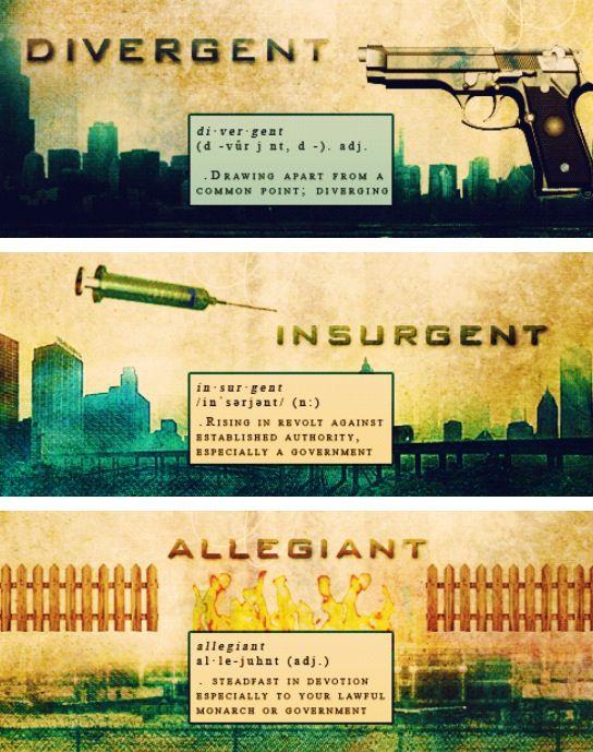 ~Divergent~ ~Insurgent~ ~Allegiant~ | Divergent by Veronica Roth | Divergent series