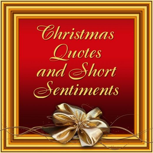 Christmas Quotes For Cards: 25+ Best Short Christmas Quotes On Pinterest