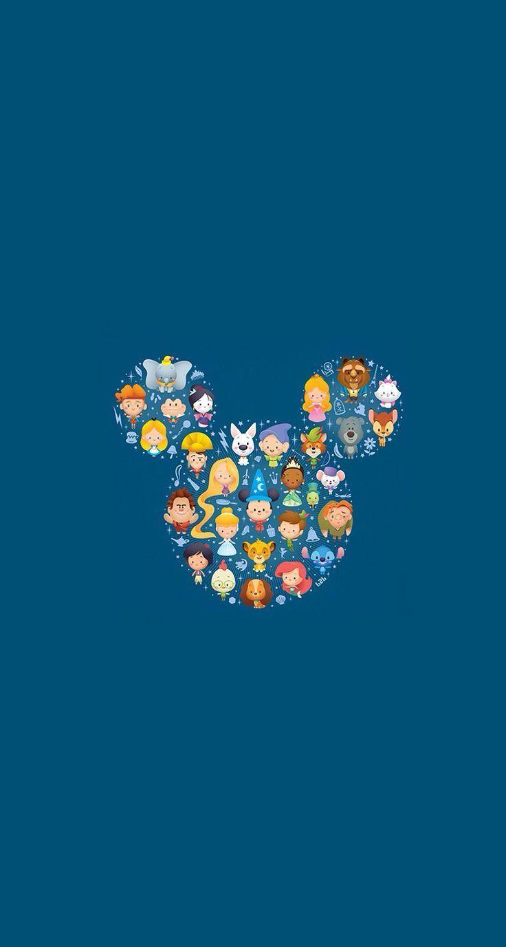 Pra quem curte Disney, eu separei algumas imagens pra serem usadas como wallpaper ou tela de bloqueio do celular <3 É só salvar e se divertir: Qual você mais curtiu?