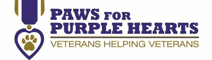 Paws for Purple Hearts: http://www.pawsforpurplehearts.org/