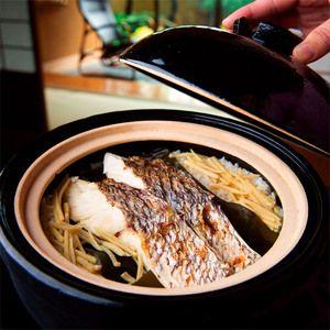来島海峡の鯛と久万の米両者を取り持つ 「大和屋別荘」の技。【高島屋限定】愛媛 鯛御飯