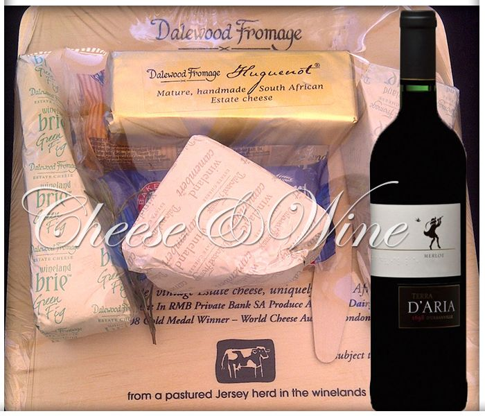 Stop by today and enjoy our new promotion - Dalewood cheese platter and bottle of Merlot 2012 for just R130! Don't miss out.
