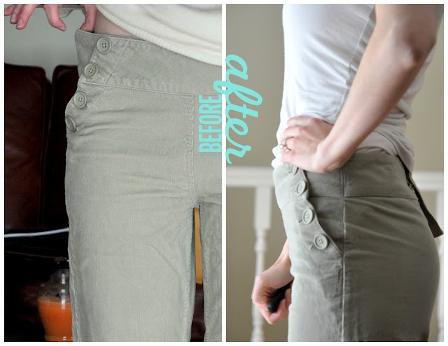 how to take in pants at side seam: Favorite Pants, Diy Sewing, Sewing Projects, Diy Art, Diy Crafts, Diy Tutorial, Neat Easy, Sewing Machine, Pants Waistband