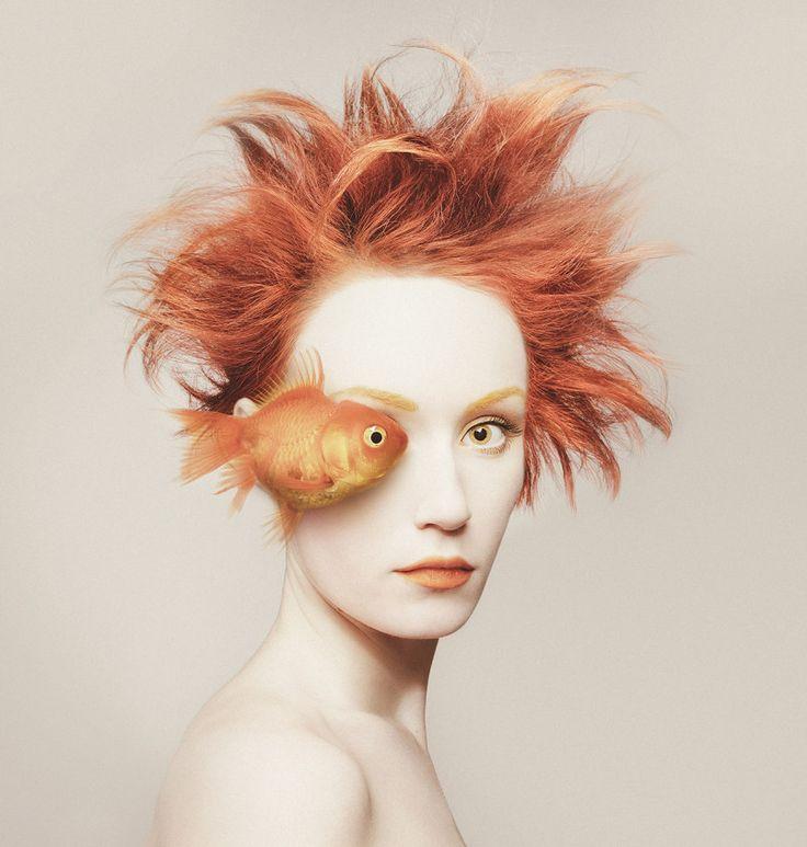Animeyed: Creative Self-Portraits by Flora Borsi