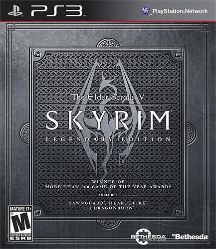 The Elder Scrolls V: Skyrim Legendary Edition - PlayStation 3, Multi
