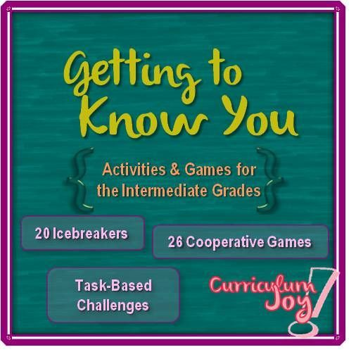 The First Days of School: Activities & Games for the Intermediate Grades || 20 Icebreakers | 26 Cooperative Games | Task-Based Challenges