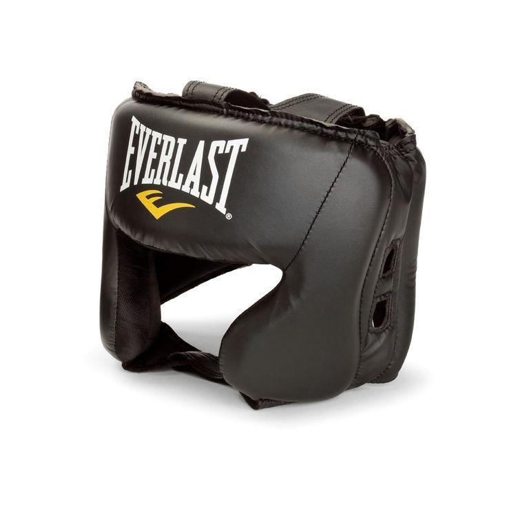 Everlast everfresh head gear black boxing