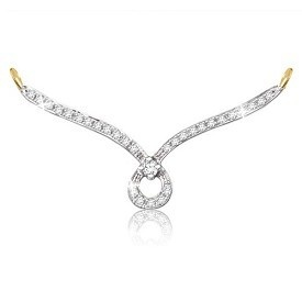 Online Sparkles Beautiful 18Kt Gold & Real Diamond Mangalsutra Pendant (PN8115) Store India, Online shopping for Sparkles Beautiful 18Kt Gold & Real Diamond Mangalsutra Pendant (PN8115) with great Deals & discounts at Varighty.com