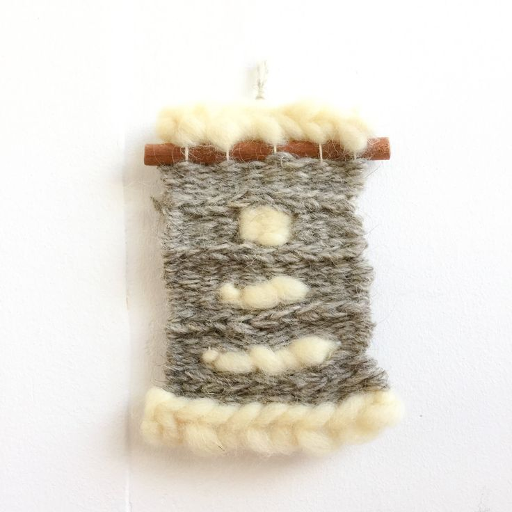 Mini weaving https://www.etsy.com/listing/572234089/mini-weaving-small-wall-hanging-weaving