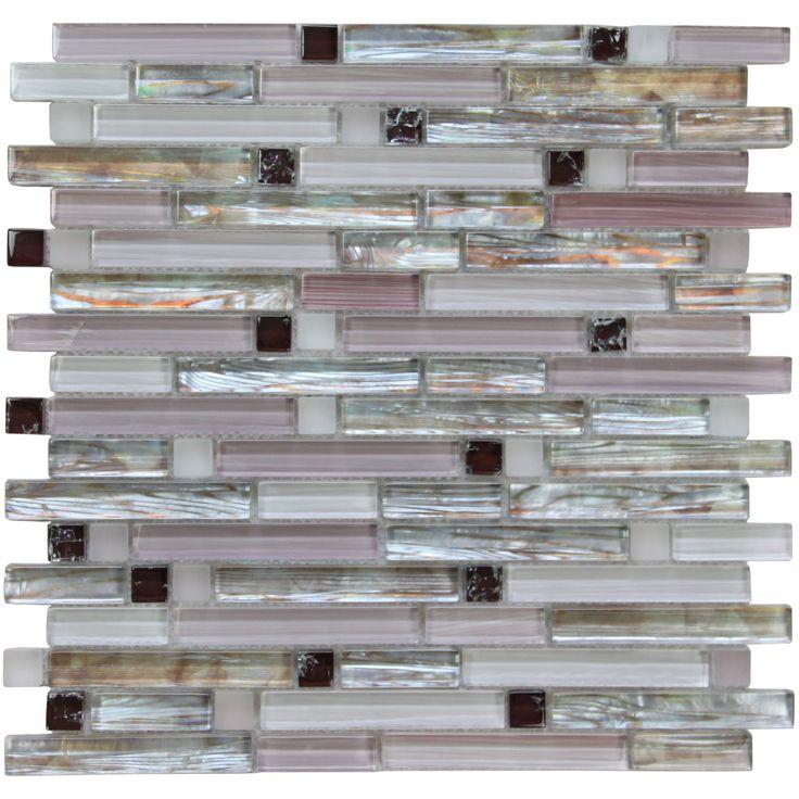 9 Best Purple Kitchen Backsplash Glass Mosaic Tile Images