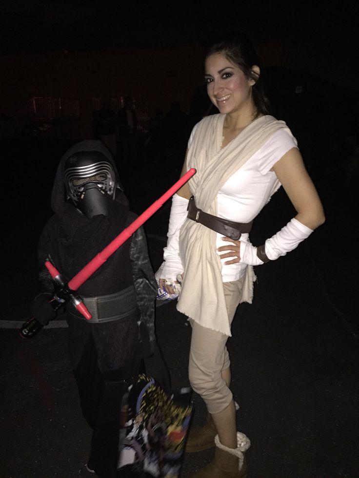 Diy Star Wars Rey costume Halloween  Costumes  Star wars halloween Star wars costumes adults