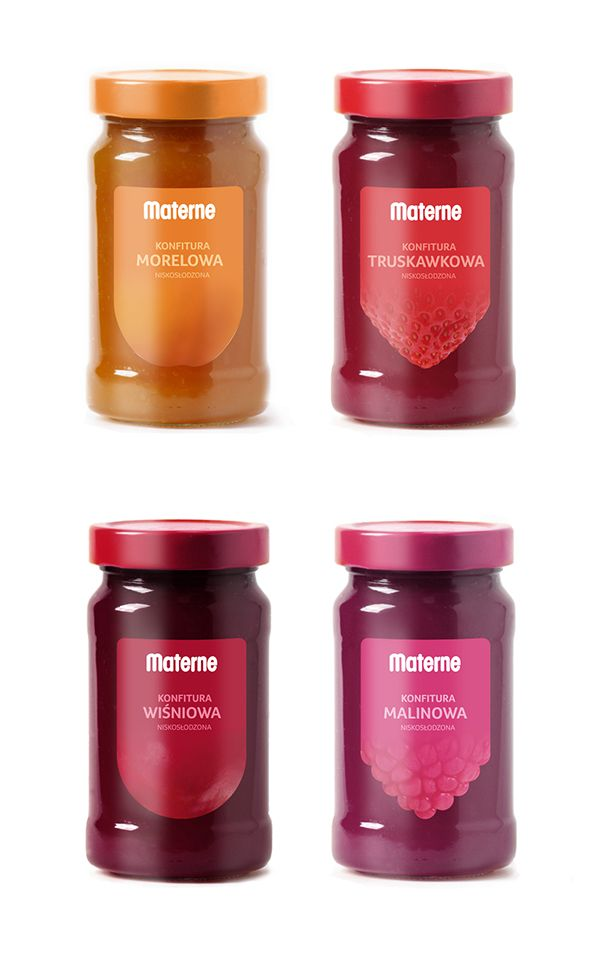 Jam Labels by Dorina Auksztulewicz, via Behance
