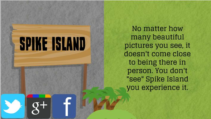 Follow us and visit our website for more info; www.spikeislandferry.com