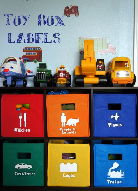 DIY Toy Box Labels {moorethanamommy.wordpress.com}