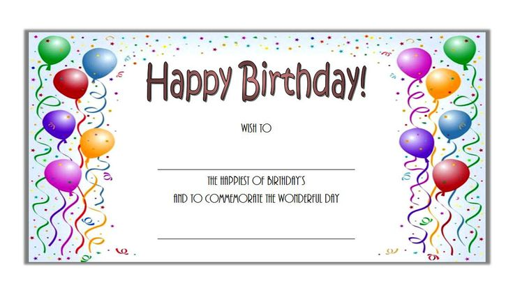 Birthday gift certificate template free printable 2 in