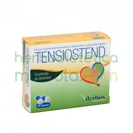 Derbós, Tensiostend, un complemento alimenticio con olivo, espino blanco e hidroxitirosol, contribuye a regular los valores de la tensión arterial.