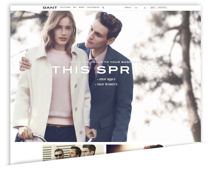 Classic Brand Gant Gets New Customers with a Complete Overhaul on Magento