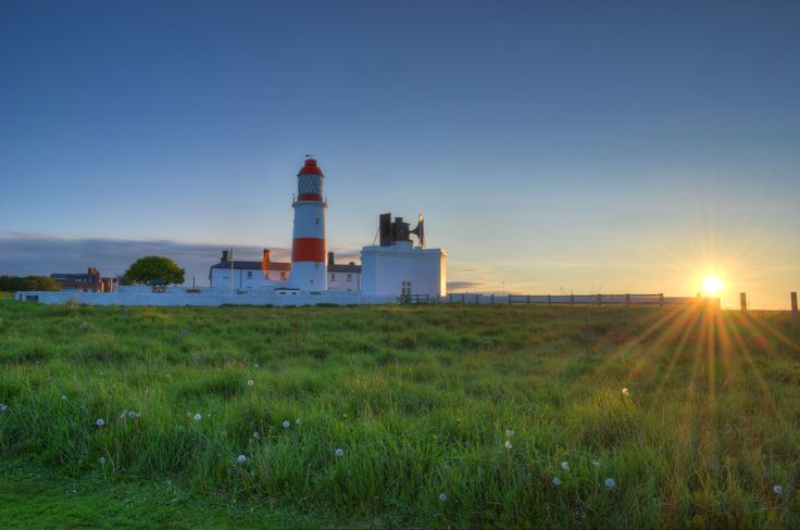 Sunset Lighthouse HDR