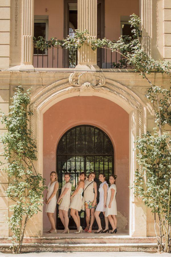 Élégant mariage civil à la Mairie de Prades près de Perpignan | les moments d'où - photographie | Photo de groupe