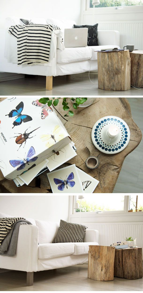 Nye Sofaben med washitape - DIY  #homedecor #washi #washitape #indretning