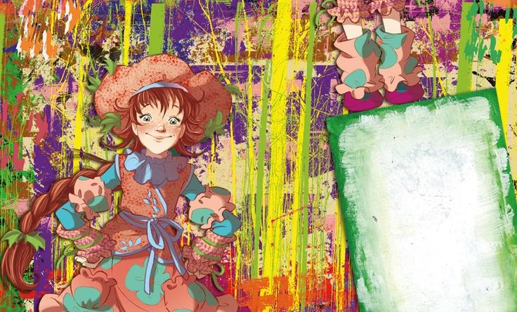 Fairy Oak-Flox Pollimon: The Rainbow Girl.