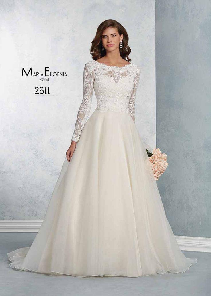 Vestido de novia de Alfred Angelo. Modelo 2611. solo en www.mariaeugenia.pe
