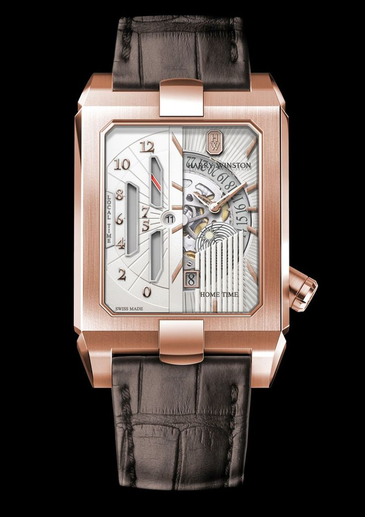 Master Horologer: Harry Winston Avenue Dual Time Automatic