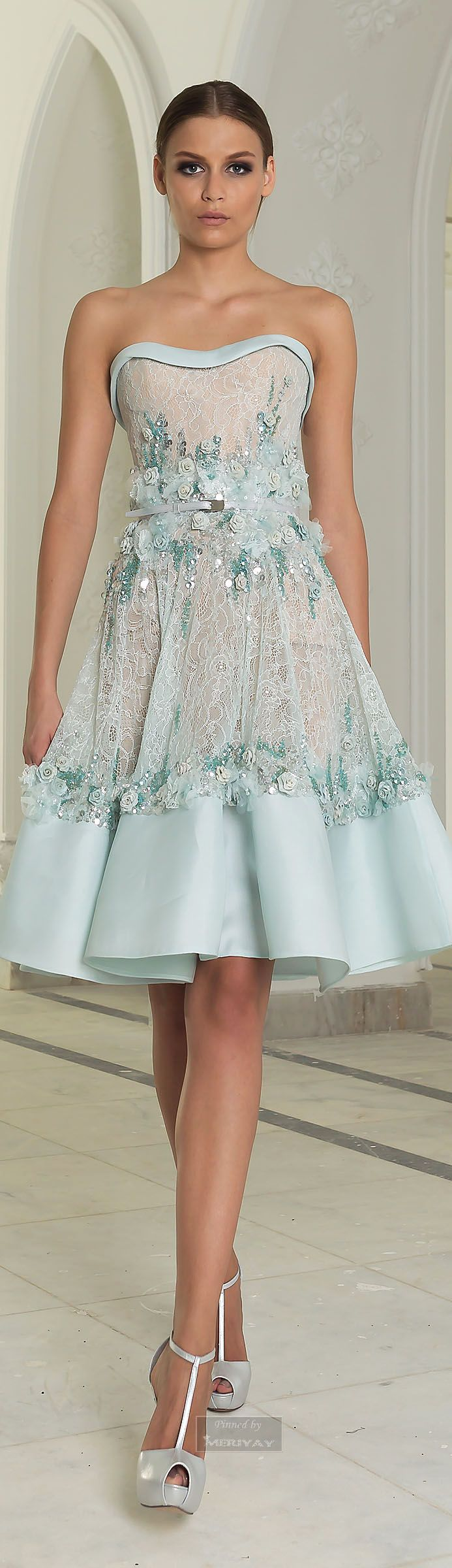 Bridesmaid / Abed Mahfouz Couture, Fall 2014