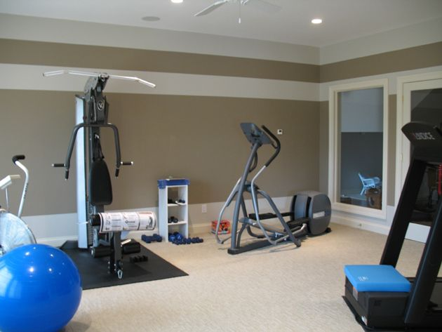 Best home gym images on pinterest workout rooms