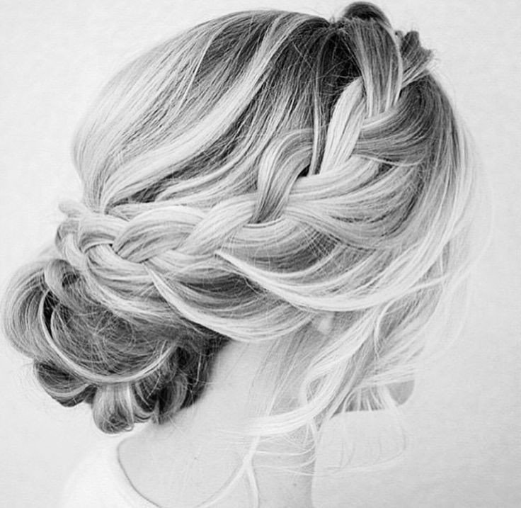 Boho hairdo