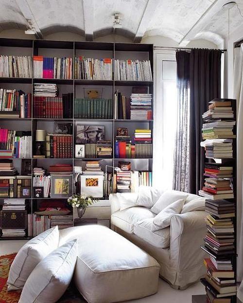 Dans l'antre du lecteur. Voici un espace confiné mais charmant pour potasser ses livres de rentrée #mysundayslibrary